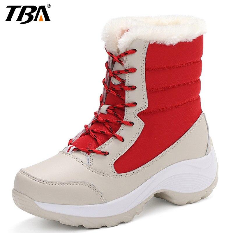TBA Winter2017 Snow font b Boots b font font b Hiking b font Shoes For Women