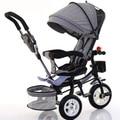 Crianças triciclos bicicletas pedal carrinho de bebê carrinhos de bebê bebê crianças