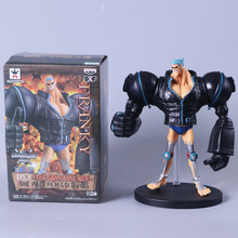 One piece 20cm black FRANKY pvc action figure anime one piece kids model toys collection gift brinquedos juguetes hot sale
