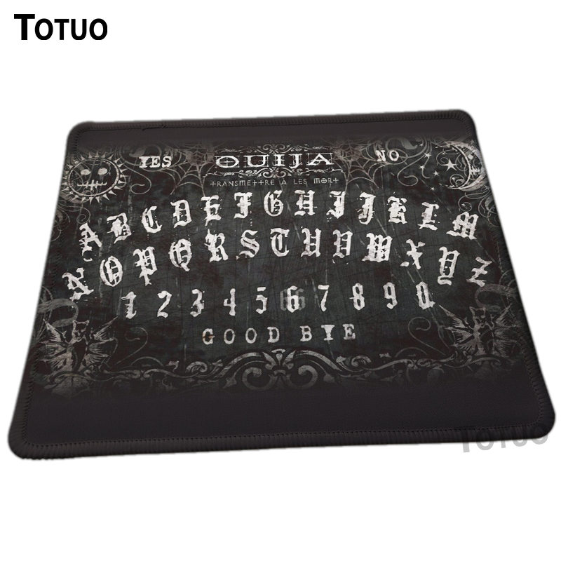 New Design Unique High Quality Ouija Board Pattern Desktop Pad Mousepads Computer Animation Mouse Mat Silica Gel Gaming Mice
