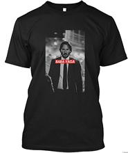 Baba YAGA John Wick Round Neck Best Selling Male Natural Cotton T-Shirt TOP TEE Print T Shirt Fashion Short Sleeve Plus Size round neck plus size flutter sleeve t shirt