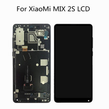 цена на 5.99 Original Full Screen Display For XIAOMI Mi Mix 2S LCD Touch Screen Replacement For XIAOMI Mix 2S Display LCD Mix2S