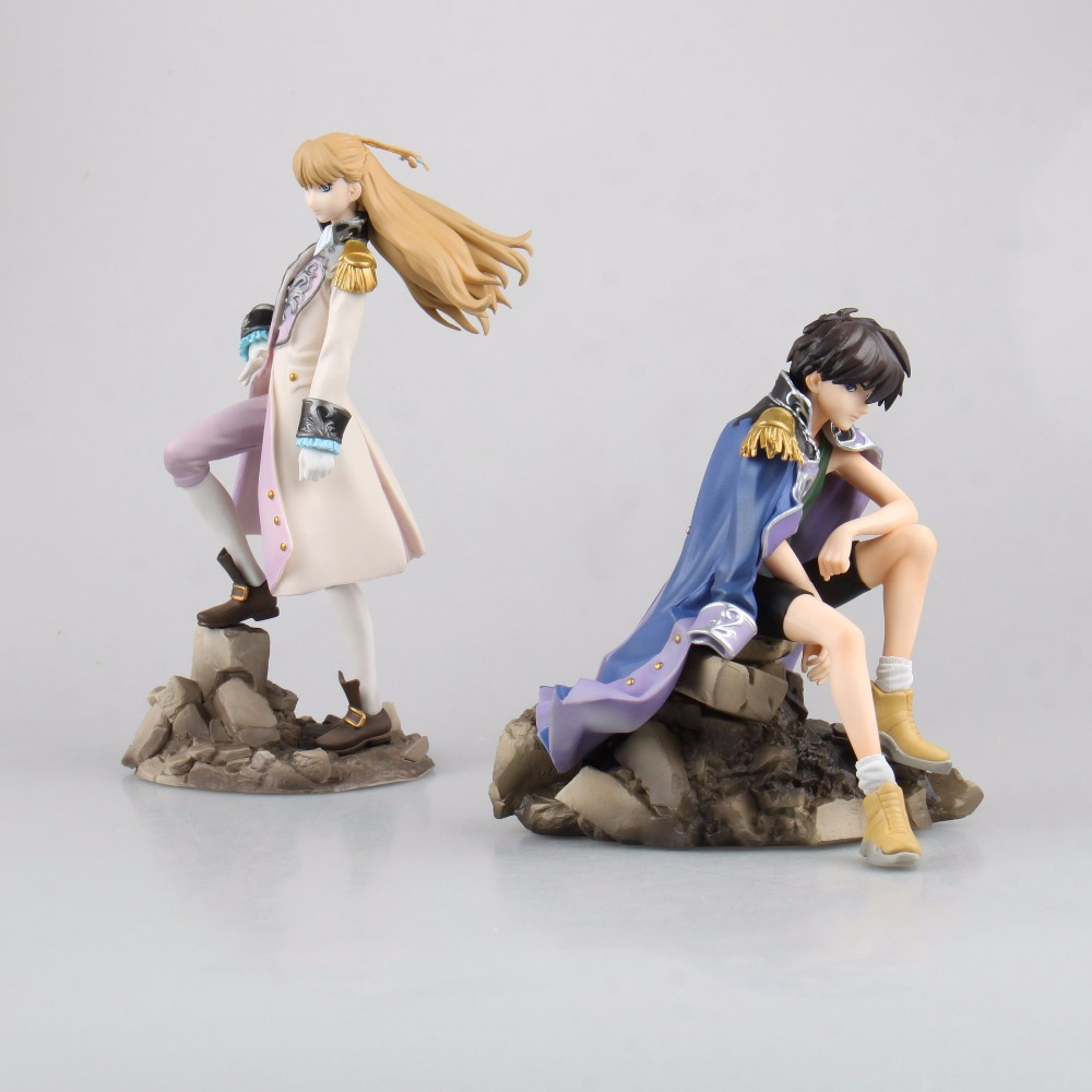 Anime Gundam Wing Heero Yuy Relena Peacecraft 1/8 Scale PVC Action Figure Resin Collection Model Toy Doll Gifts