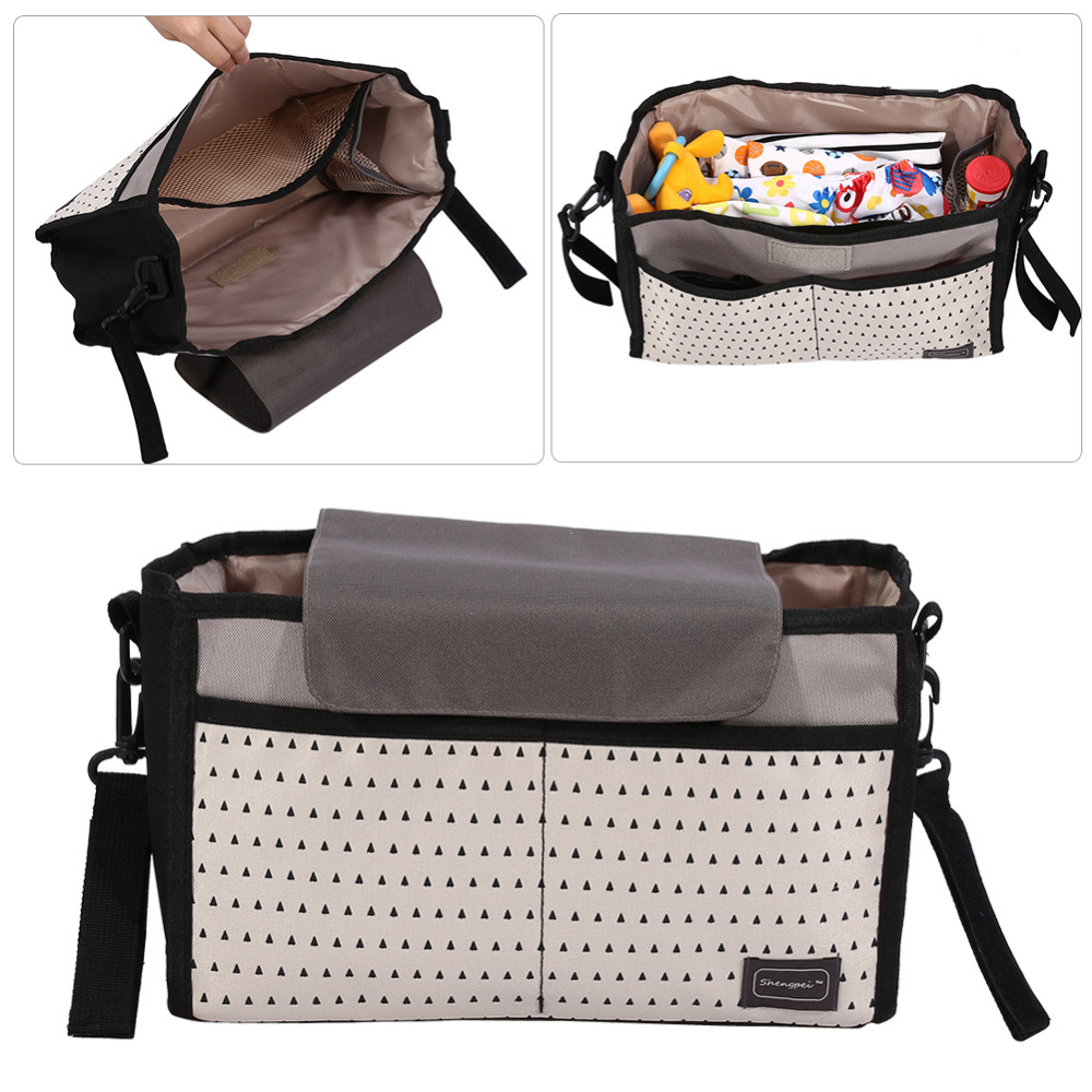 HTB1YdgvdrSYBuNjSspfq6AZCpXaW 2 Colors Diaper Bag Baby Milk Bottle Insulation Bags Mummy Storage Bag for Baby Stuff Collection Stroller Accessories Baby Care