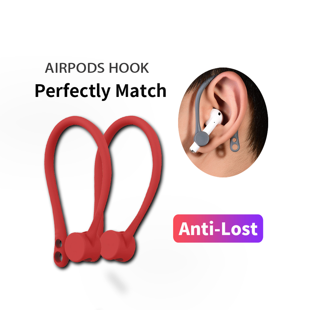 Protective Holder for Apple Airpods Hook Secure Fit Wireless Earphone Silicone case air pods accessory Sport Anti-lost EarHook
