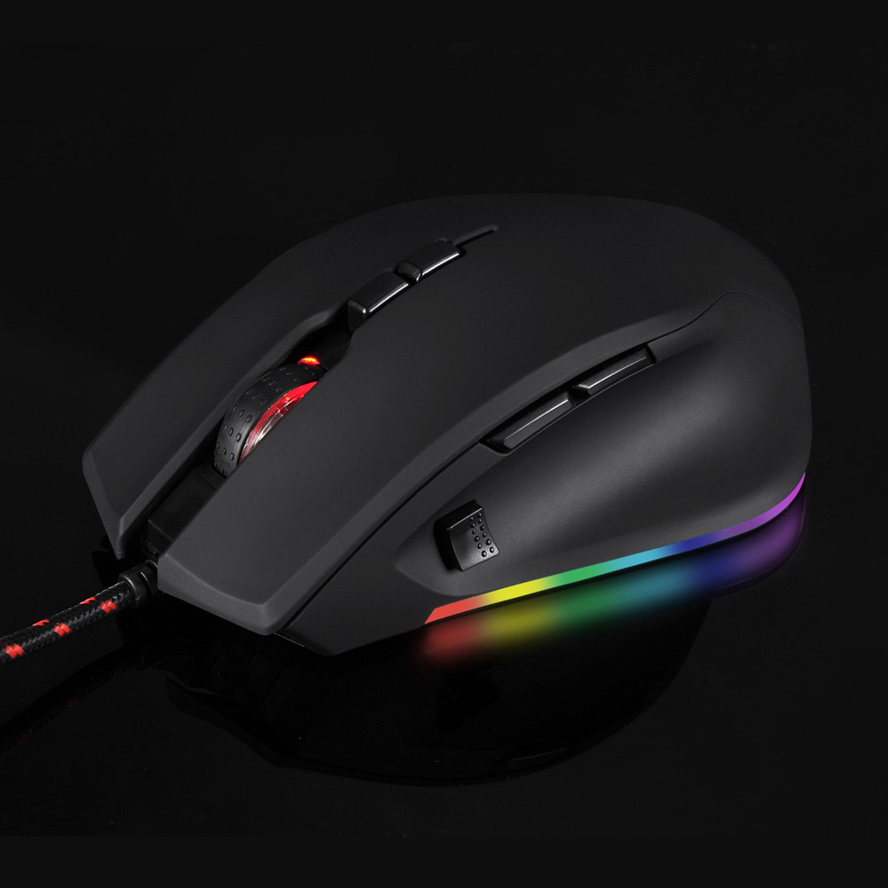 Image 2 - Professional 5000DPI Gaming Mouse USB Wired Optical Mice RGB Backlit for PC Laptop NK Shopping-in Mice from Computer & Office
