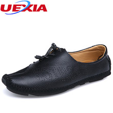 New Men's Leather Shoes Anti-collision Casual Zapatos Summer/Spring Designer Male Walking Shoe Men Fashion Dress Slip-on Loafer