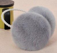 Ear Warmers Women Ladies Girl Sweet Plush Fluffy Warm Fur Earmuffs Earlap Ear Cover Ear Muffs