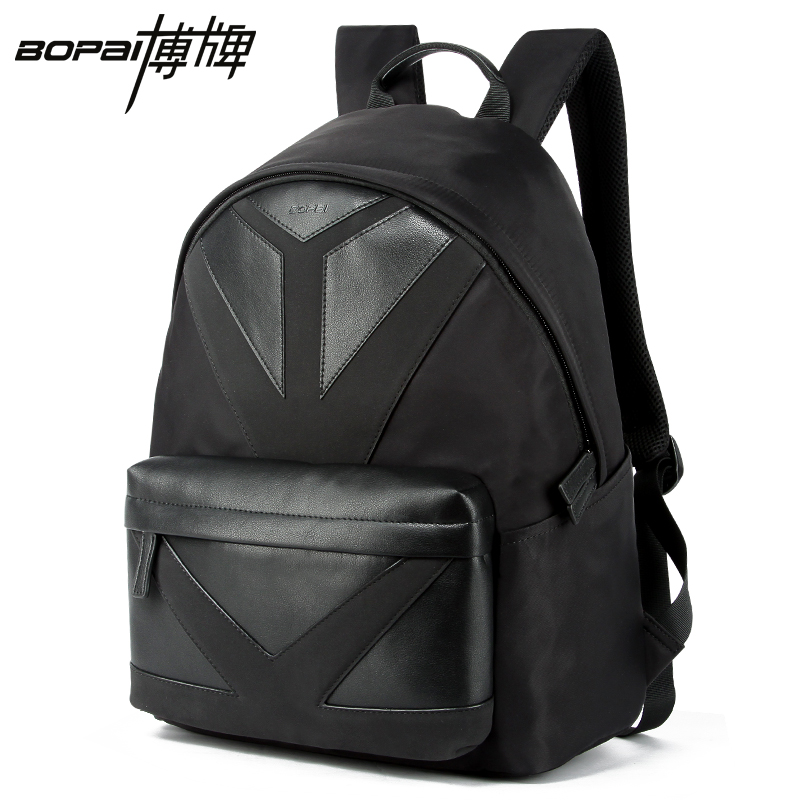 2016 New Arrival Fashion Waterproof Men's Backpack Laptop Backpack Men 14 Inch Computer Backpack Best Travel Backpack Bag Black new waterproof arrival laptop bag case