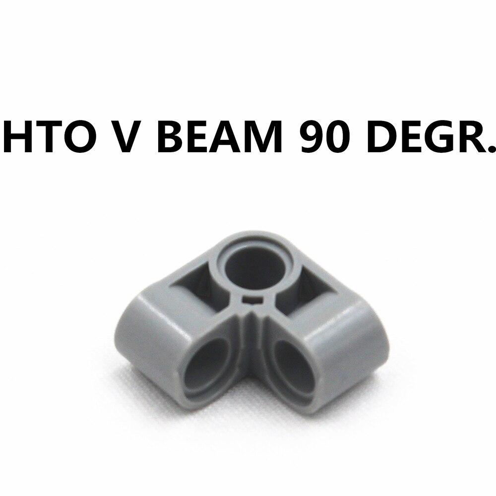 Self-Locking Bricks free creation of toys MOC TECHNIC Building Blocks 20PCS HTO V BEAM 90 DEGR. compatible with Lego