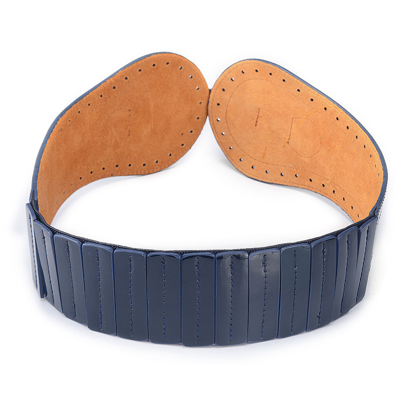 Cowgirl Leather Cummerbund Western Buckle Belt