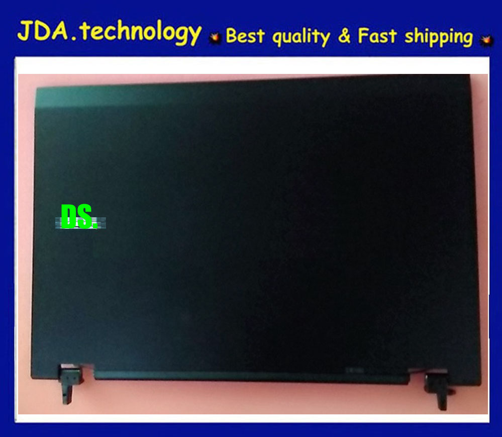 GENUINE Dell Latitude E5500 15.4 LCD Back Cover w HINGES P//N RC382