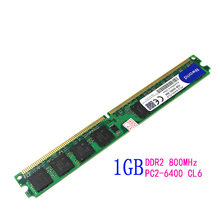 Hot Sell 2016 NEW DDR2 1GB 800mhz 1G DDR2 ram memory for desktop intel MB Compatible with all motherboards
