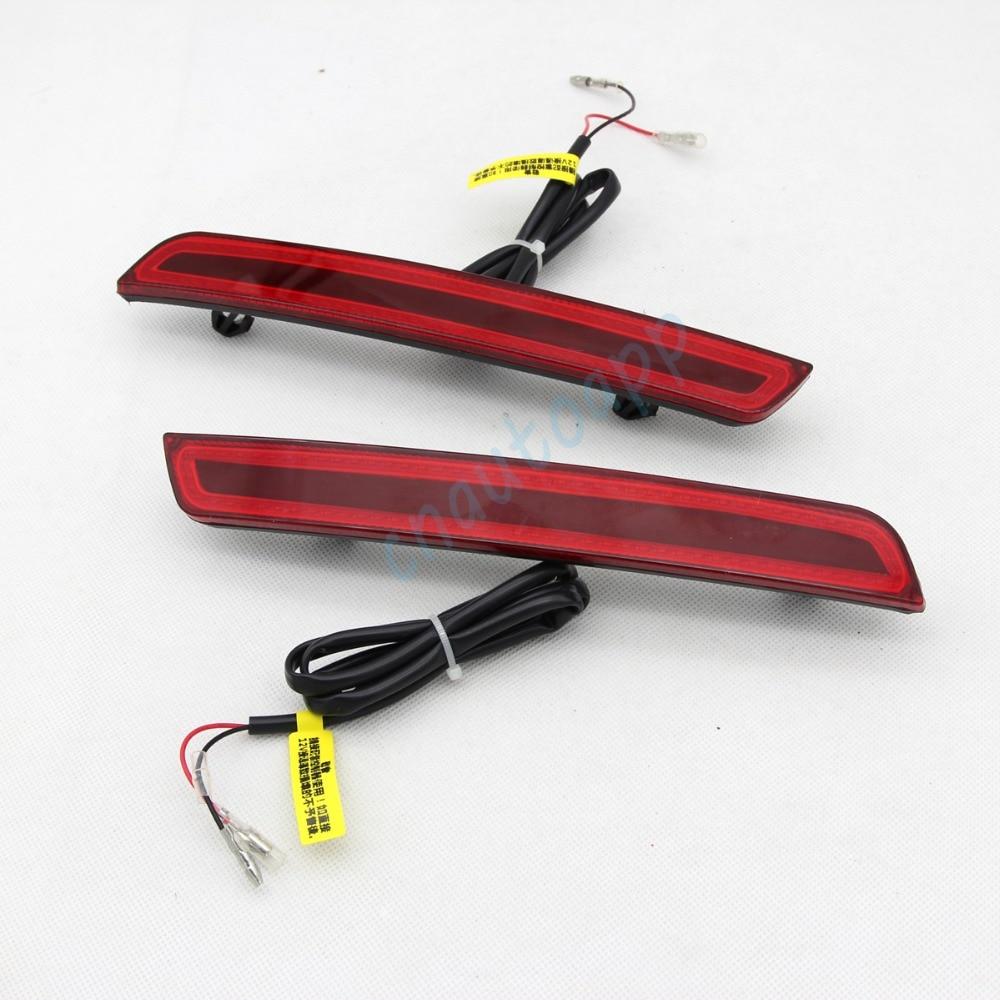 LED bakre stötfångare varningslampor bilbromslampa COB körljus - Bilbelysning - Foto 5