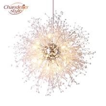 Lustre suspendu rond en Cristal, design moderne, éclairage dintérieur, luminaire décoratif de plafond, idéal pour une maison ou un Restaurant