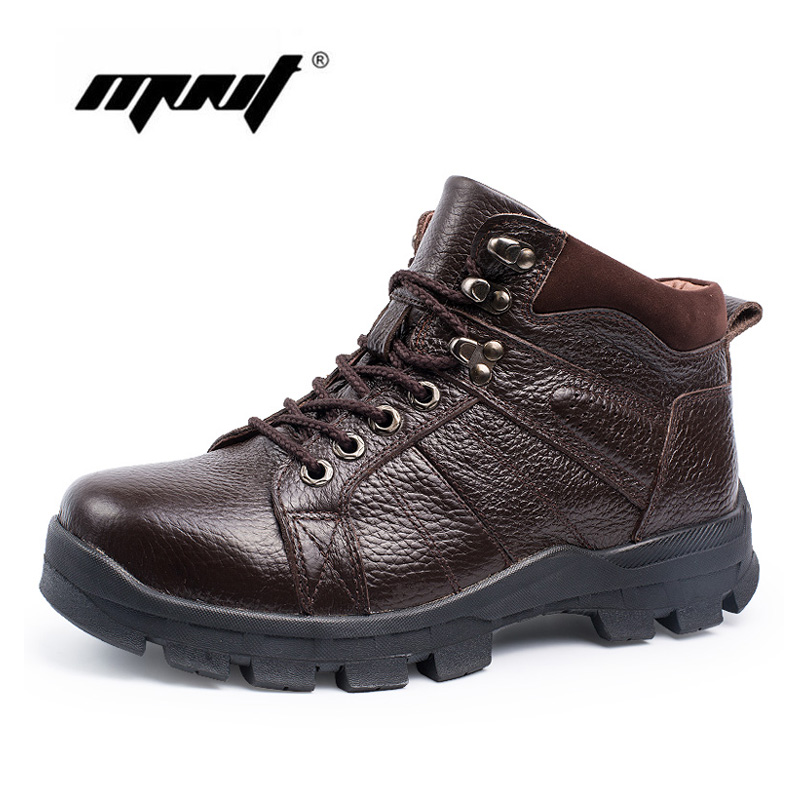 Hot super warm men boots genuine leather snow boots Plus fur men ankle boots waterproof winter shoes new men winter boots plush genuine leather men cowboy waterproof ankle shoes men snow boots warm waterproof rubber men boots