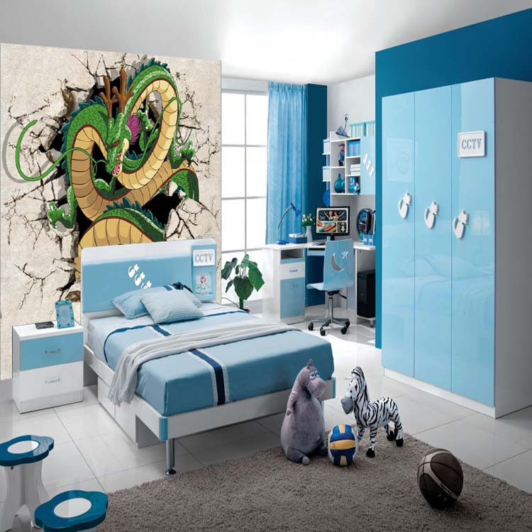 Bon 3D Dragon Photo Wallpaper Dragon Ball Wallpaper Custom Japanese Anime Wall  Mural Boys Kids Bedroom Room Decor Home Decoration In Wallpapers From Home  ...