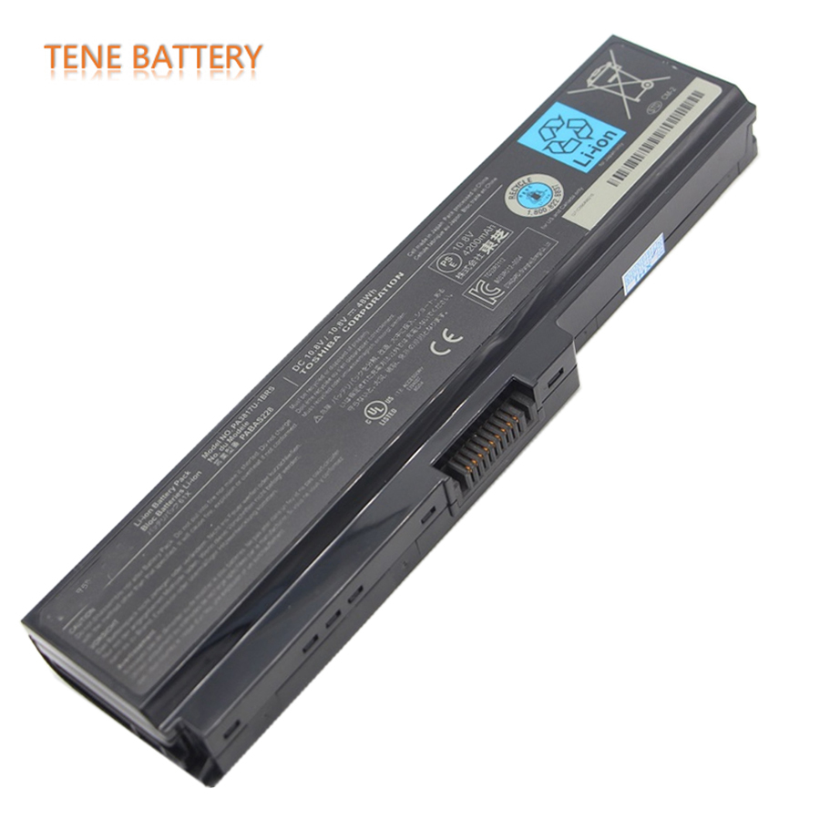 48Wh Original Laptop Battery for Toshiba M600 L600 L730 L650 L650D PA3817U-1BRS PA3817U PA3818U-1BRS PABAS117 PABAS178 PABAS228 high quality 14 4v 63wh pa3928u 1brs battery for toshiba qosmio x770 3d x770 107 x770 11c pabas248