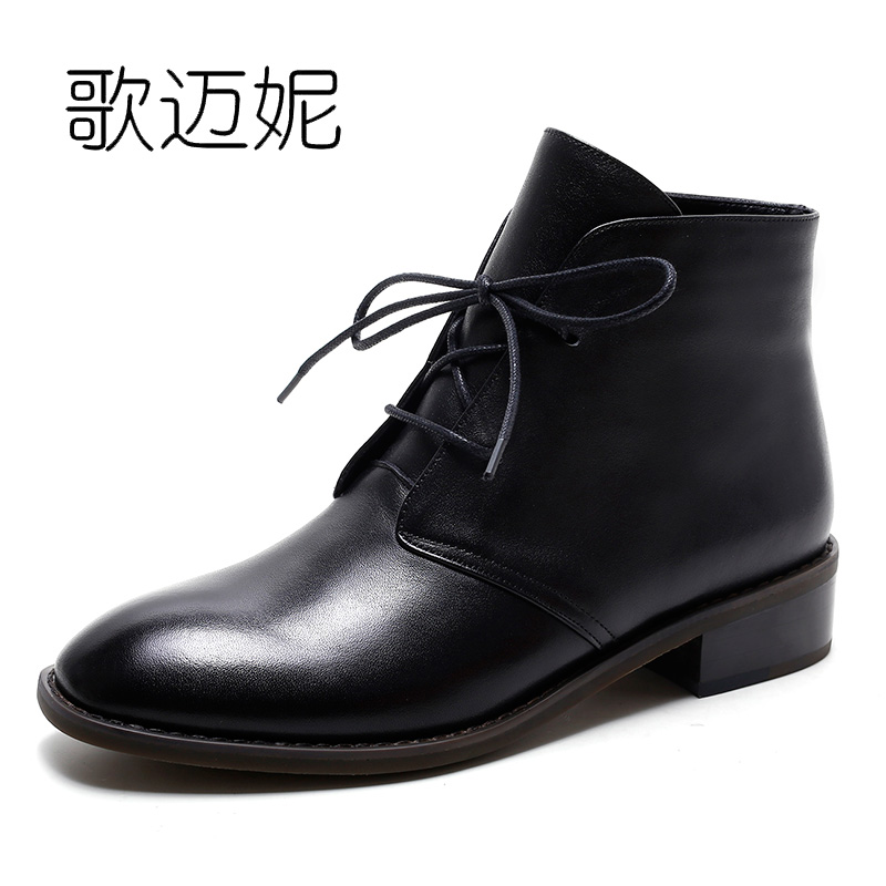 womens winter ankle boots women botas mujer boot botines mujer 2017 ladies black genuine leather punk boots laarzen schoenen ladies embroidered boots womens ankle boots for women winter boots black boot botas mujer bottine botte femme laarzen botines