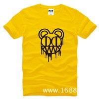 Radiohead Rock Band Mens Men T Shirt Tshirt Fashion 2015 New Short Sleeve O Neck Cotton