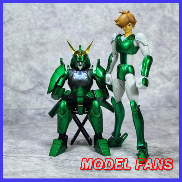 MODEL FANS INSTOCK Ronin Warriors Yoroiden Samurai Trooper Seiji Date Metal Cloth Armor Plus-in Action & Toy Figures from Toys & Hobbies