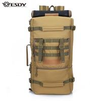 Military Tactical Backpack Hiking 50L Sports Daypack Shoulder Bags Waterproof Hunting Camping Rucksack Men's mochila feminina