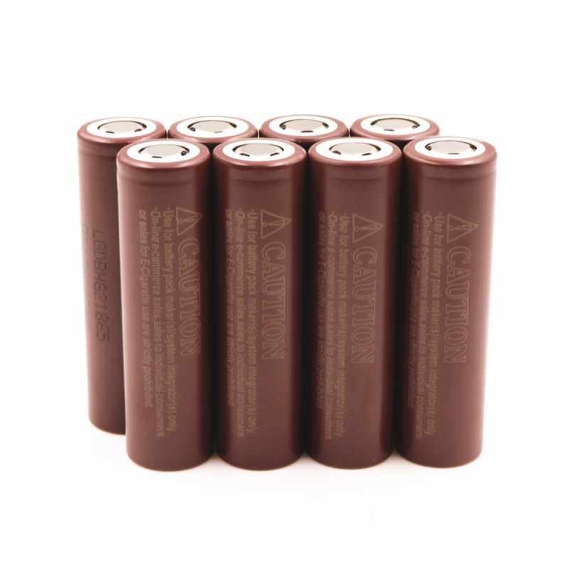 100% Новый оригинальный HG2 18650 батарея 3000 мАч 3,6 В разряда 20A предназначен для LG электронная сигарета Мощность батарея