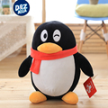 Giveway gift wechat special penguin plush toys emoji QQ family plush toys children doll gifts