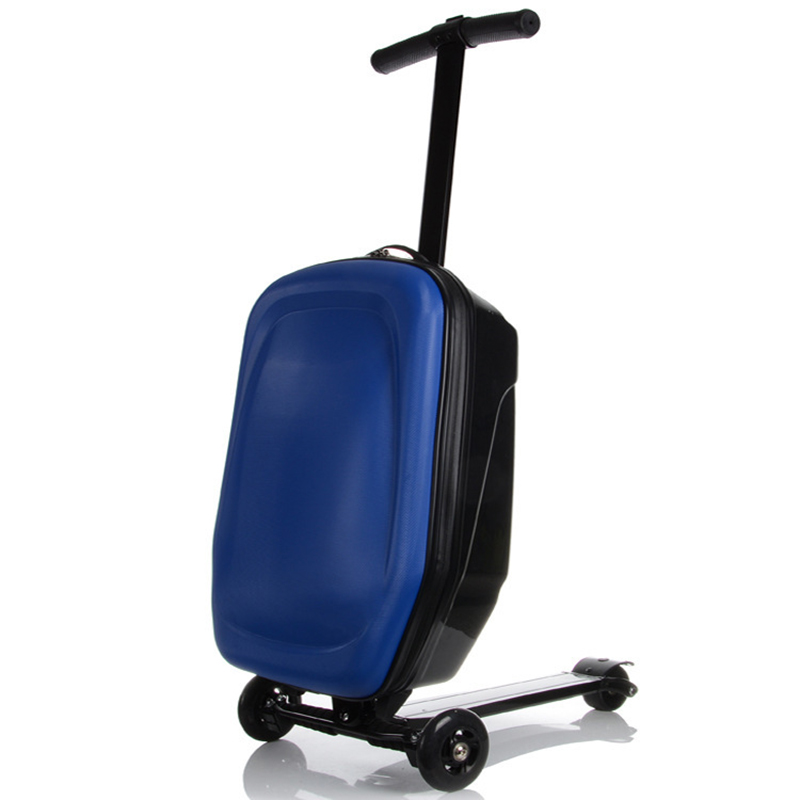 Letrend New Fashion High-grade Skateboard Rolling Luggage 21 inch Women and Men Trolley Suitcases Student Travel Bag Trunk high tech and fashion electric product shell plastic mold