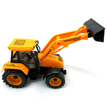 kids toys children Beach toys Pull Back Engineering car forklift Vehicles Building car shovelcar  truck excavator bulldozer toys