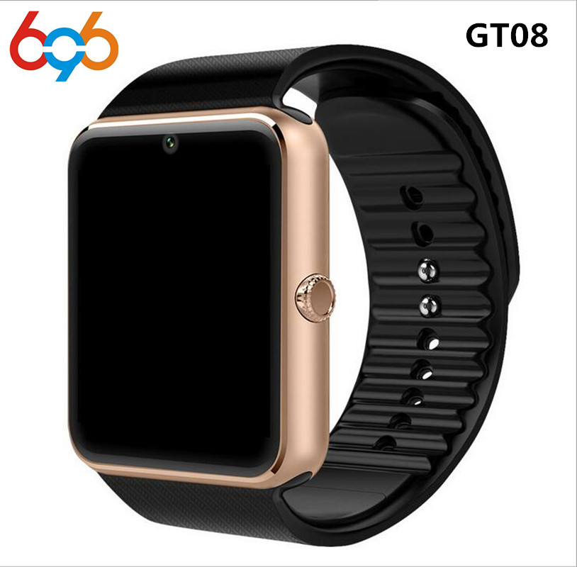 GT08 Smart Watch For Apple Watch Men Women Android Wristwatch Smart Electronics Smartwatch With Camera SIM TF Card
