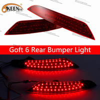 For Goft 2 Pcs12V Led DRL Daytime Running Light Car Light Source Reversing Parking Signal Lamps