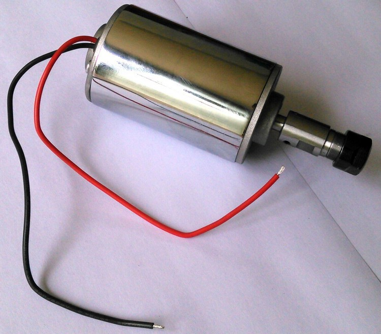 spindle 200w motor air cooling cnc spindle dc motor CNC Engraving Machine ER11 3 175mm collets