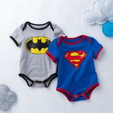 Baby boy romper toddler baby short sleeve cotton romper for 0-24M infant baby jumpsuit newborn baby clothes R37 2017 newborn baby boy winter long sleeve cotton clothing toddler baby clothes romper warm cartoon jumpsuit for 0 12 months