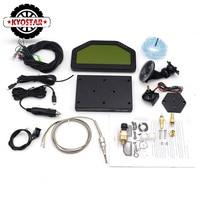 9000rpm DO0904 Car Dash Race Display Full Gauge Sensor Kit Dashboard LCD Screen Rally Gauge With bluetooth Multi Function