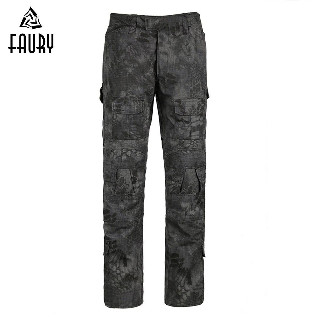 Militaire Tactique Pantalon Camouflage résistant à la Déchirure Plaid G3 Grenouille Pantalon CS pantalons de treillis pantalon d'entraînement de L'armée Hunter SWAT pantalon de combat