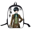 Japanese Anime Black Butler Backpack Children School Bags Cartoon Teenager Backpacks  Backpacks Travel Backpack Student Bag