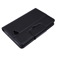 Black PU Leather Case Bluetooth Detachable Wireless Keyboard Tablet Keyboard with Stand for Samsung Galaxy Tab