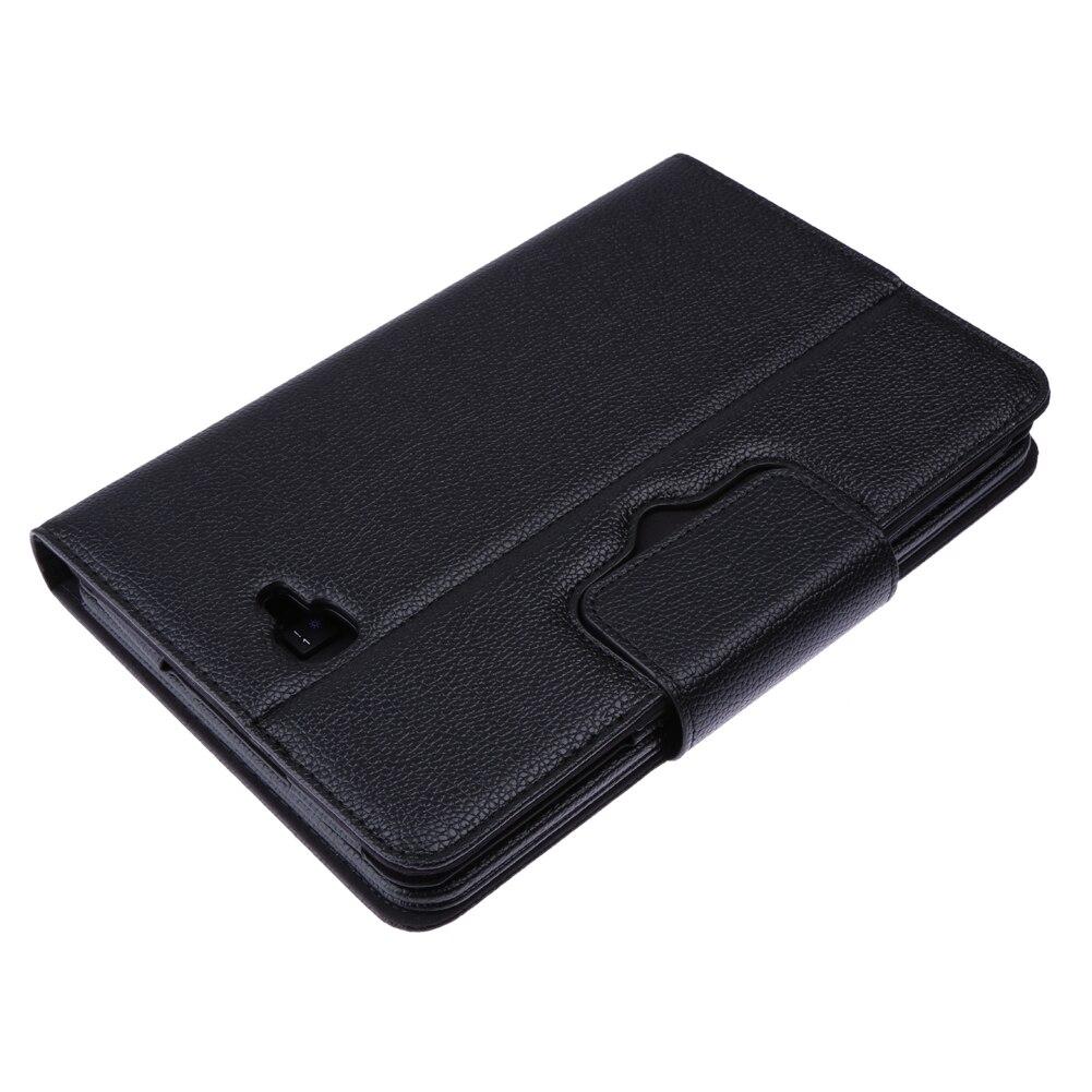 Black PU Leather font b Case b font Bluetooth Detachable Wireless font b Keyboard b font