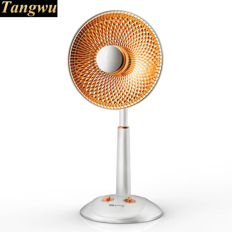 Small solar heater home mute energy-saving electric heaters lifting shook his head fall to the ground fan KaoHuoLu free shipping new electric membrane heater household electric heater energy saving electric heating heater with airer mute