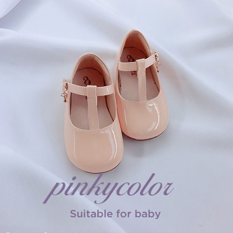 Image 3 - Fashion Girls Leather Shoes Candy Color Baby Girls Princess Shoes For Wedding Birthday Party Girls Patent Leather Shoes-in Leather Shoes from Mother & Kids
