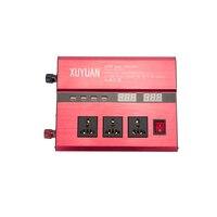 Dual USB 2600 Вт DC 12 В до 220 В/110 В 24 В к AC 220 В портативный автомобиля Мощность инвертор Зарядное устройство конвертер адаптер