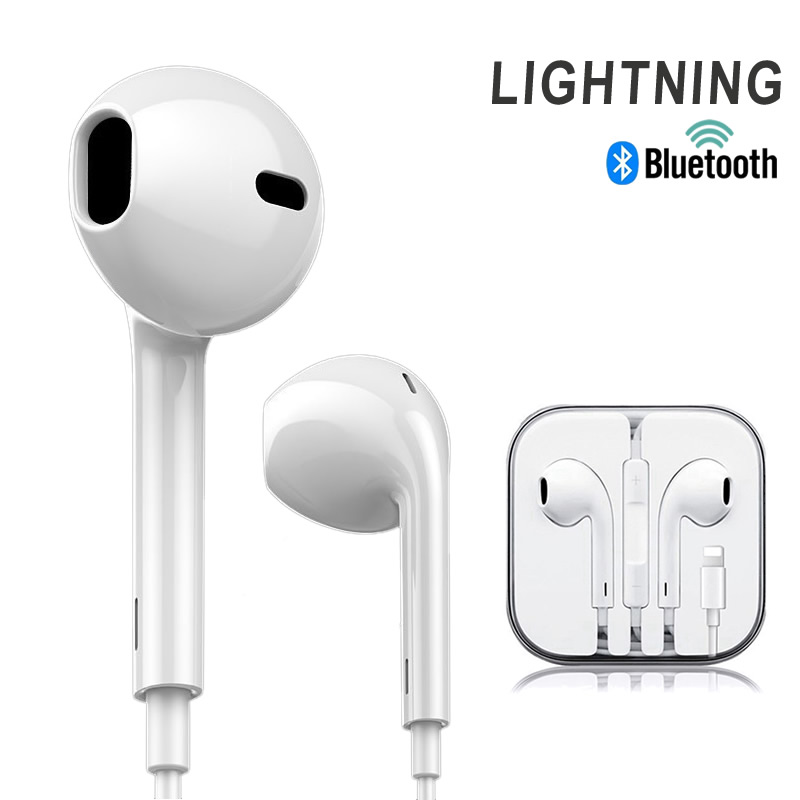 Wired Earphone With Microphone Gaming Headset Loop Stereo Control Earbuds For IPhone 8 7 Plus X XR XS Max Huawei Xiaomi Samsung