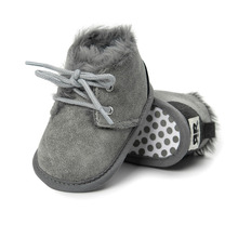 Brand New Toddler Infant Newborn Baby Boy Girl Winter Fur Sn