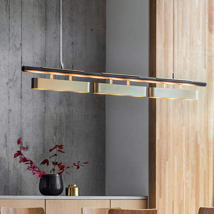 Italy Design High Quality Replica Lighting Copper Hanging Pendant Light For Dinning Table Kitchen Island Suspension Luminaire
