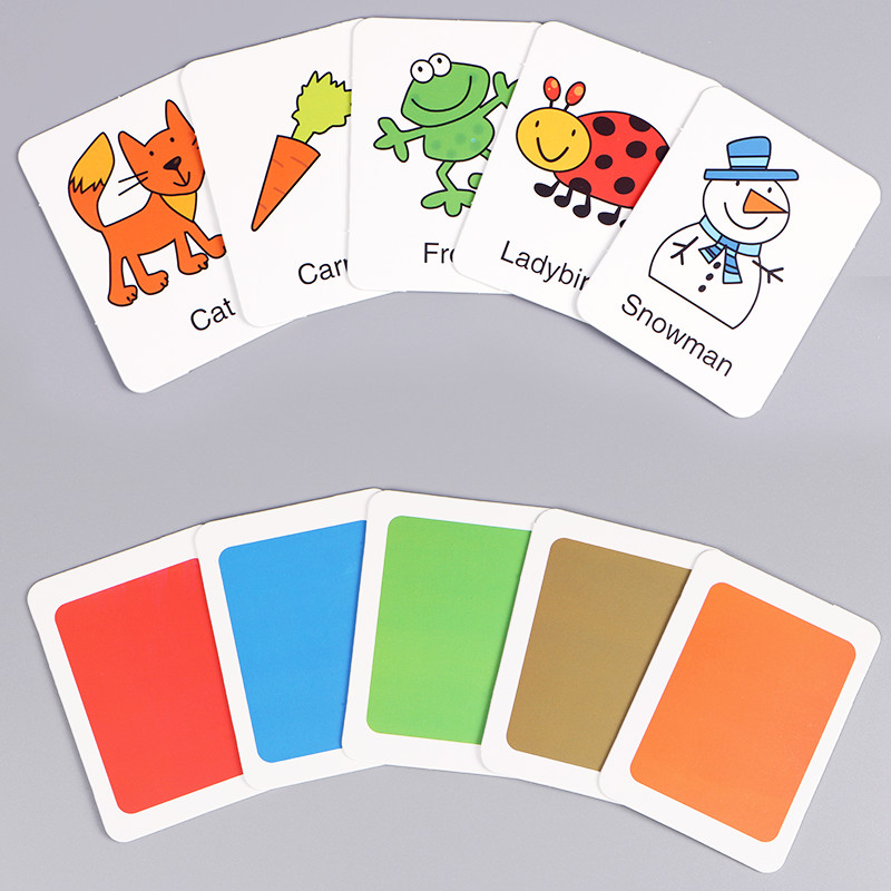 Cognitive card Learn English Word Puzzle Toy kid