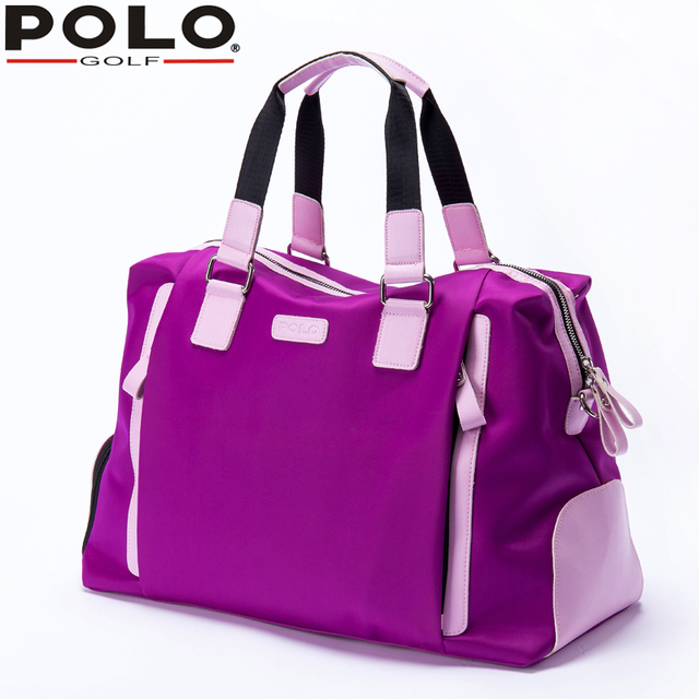 ae9bd8771c06 Polo Bag Lady Clothing with Shoe Bag Women Shoulder  Hand Carry  Messenger  Large Capacity
