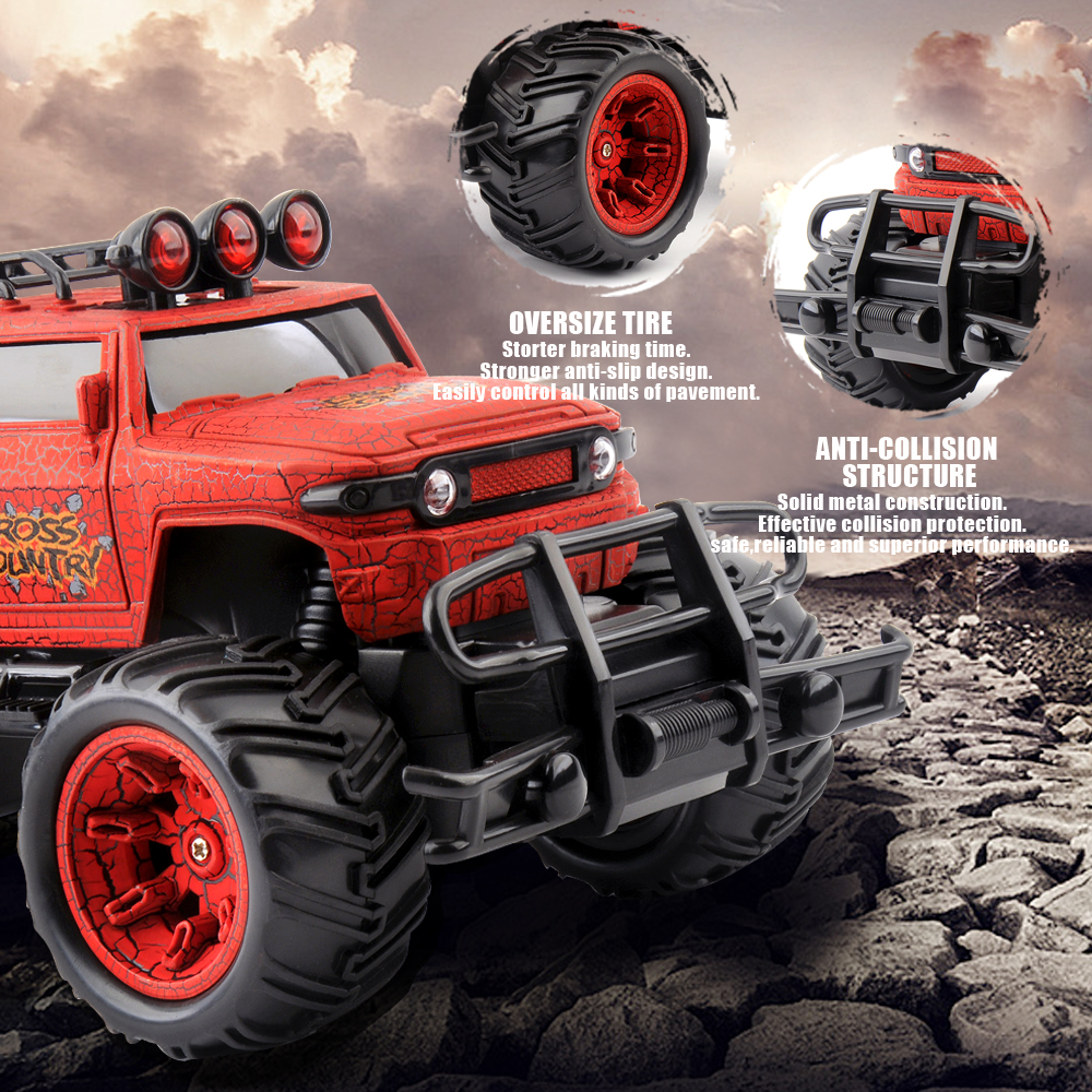 Image 3 - 1/20 RC Car Cross Country Rc Radio Controlled Machine 27MHZ Monstertruck Off Road Cars Toys for children Xmas Gifts For Kids-in RC Cars from Toys & Hobbies