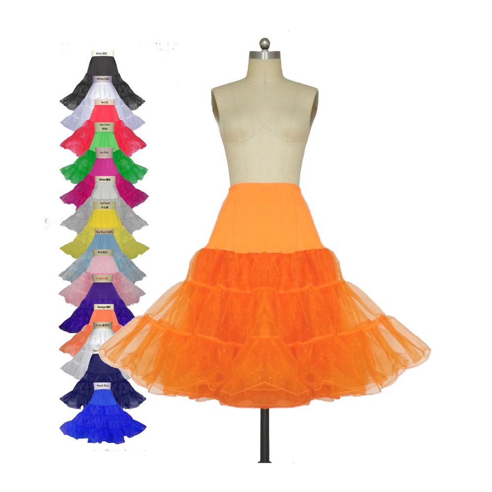 Aliexpress.com : Buy Plus Size Candy Colors Petticoat For Mermaid ...