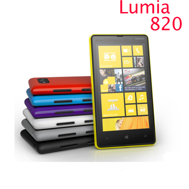 820 Original Nokia Lumia 820 phone GSM 3G 4G 4.3'' Touch
